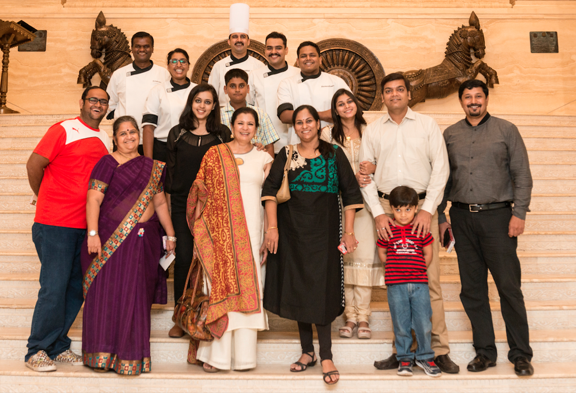 Ameeta Agnihotri at ITC Grand Chola Dineout