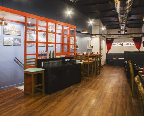 flat 10% off at The Fusion Kitchen