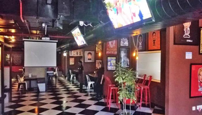 live screening restaurants in Hyderabad
