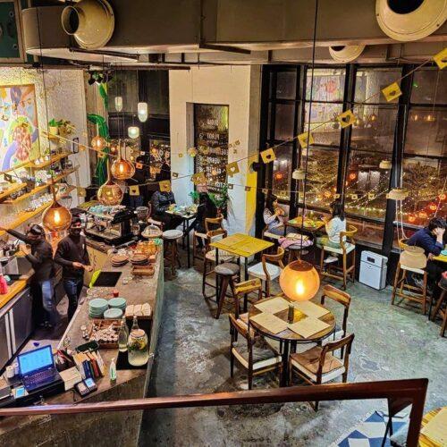 Work-friendly cafes in Delhi NCR